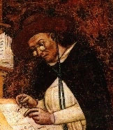 Hugh de Provence の肖像画の部分。Tomaso da Modena 作(1352年).jpg