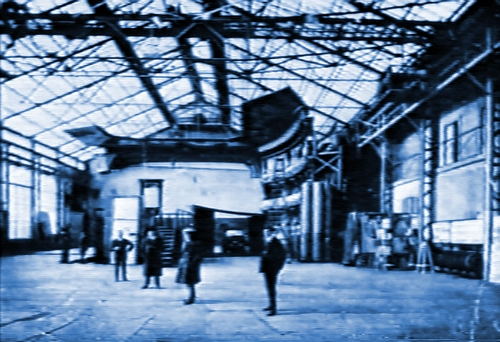 1910頃の映画スタジオ バイオグラフ社.JPG